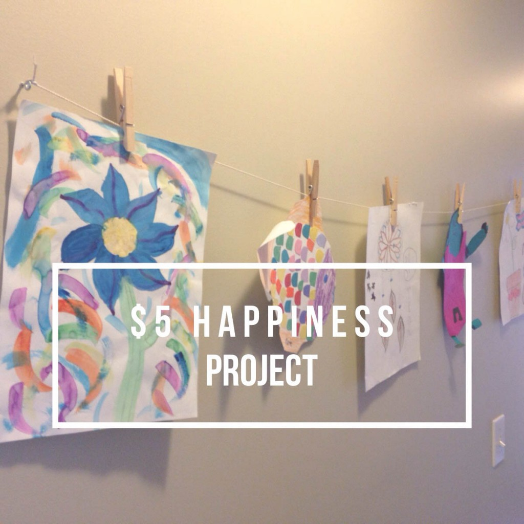 Five Dollar Happiness Project