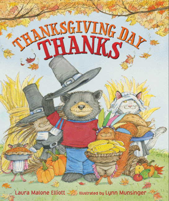 Thanksgiving Day Thanks book