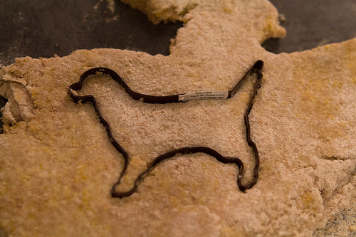 I swear I'd have taken the sticker off the cookie cutter if it was for people