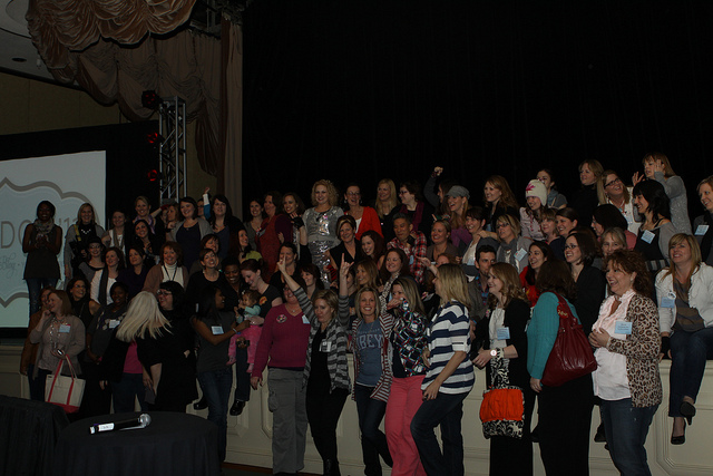 Blissdom FlashMob Picture