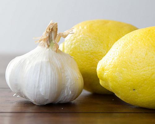 garlic & lemons